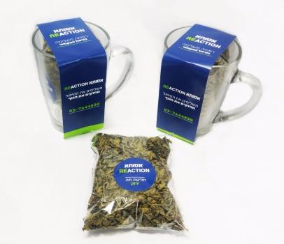 מארז ספל וחליטת תה ירוק