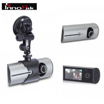 מצלמה דו כיוונית בעלת 2 עדשות צילום לרכב