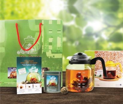 מארז תה ממותג