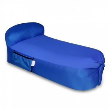 פוף מתנפח כחול