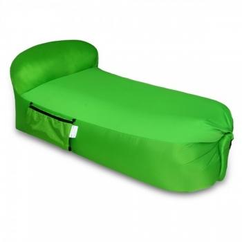 פוף מתנפח ירוק