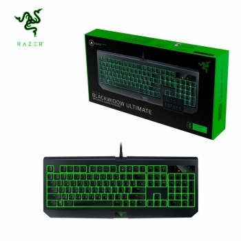 מקלדת גיימינג RAZER BlackWidow Ultimate-Green Switch
